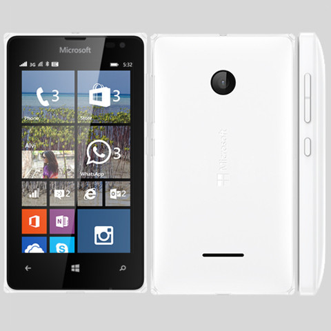 MICROSOFT Lumia 532 (Dual Sim) White EU
