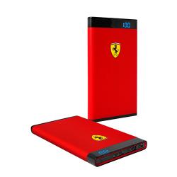 Power bank 5000mAh Ferrari Portable rubber Red (3700740373934)