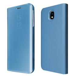 """Θήκη Book """"OKKES"""" ® """"Milo Mirror"""" for Samsung J530F Galaxy J5 2017 DuoS Blue"""
