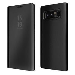 """ΘΗΚΗ BOOK """"OKKES"""" ® """"Milo Mirror"""" for Samsung N950F Note8 BLACK"""