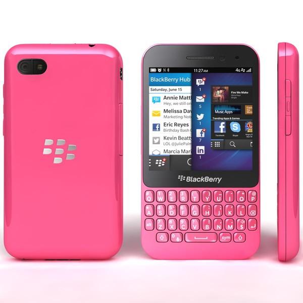 BLACKBERRY Q5 Pink (QWERTY) EU