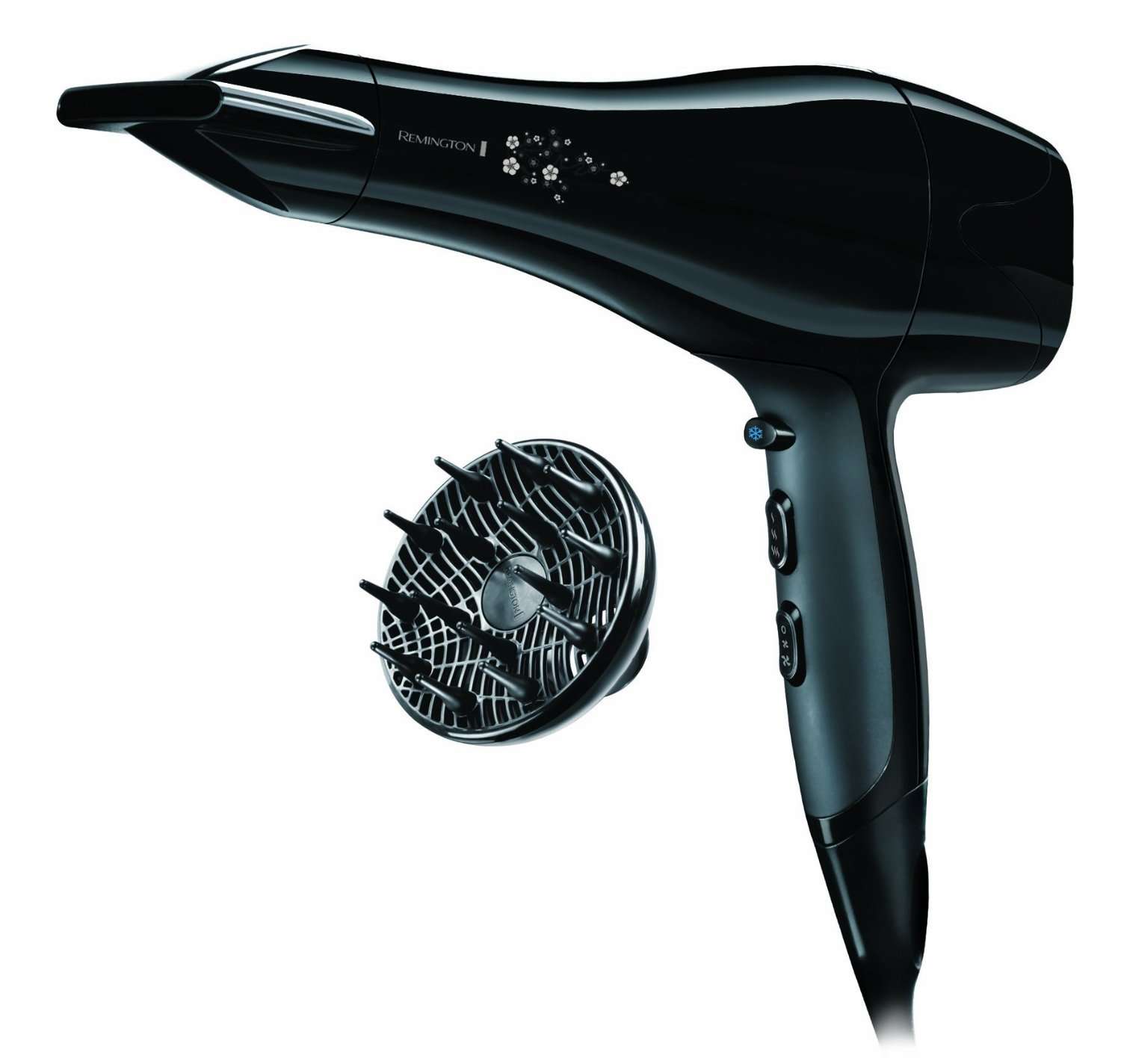 ΣΕΣΟΥΑΡ ΜΑΛΛΙΩΝ Remington AC5011 Pearl Hair Dryer Black 2200W