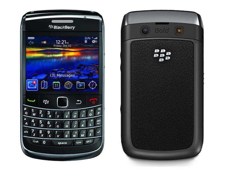 BLACKBERRY Bold 9700 (QWERTY) Black EU