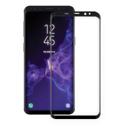 ΜΕΜΒΡΑΝΗ  Star-Case® Fullcover 3D Tempered Glass Samsung G960F Galaxy S9 Black