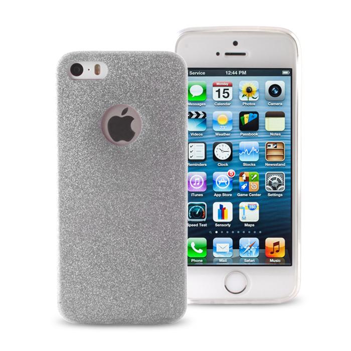 ΘΗΚΗ Ultra Glitter for iPhone 6/6S silver