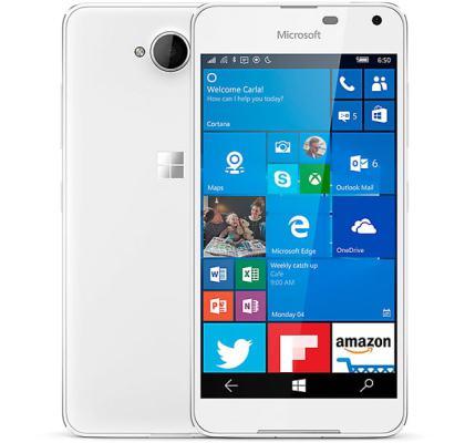 MICROSOFT Lumia 650 16GB (Dual SIM) White Light Silver EU