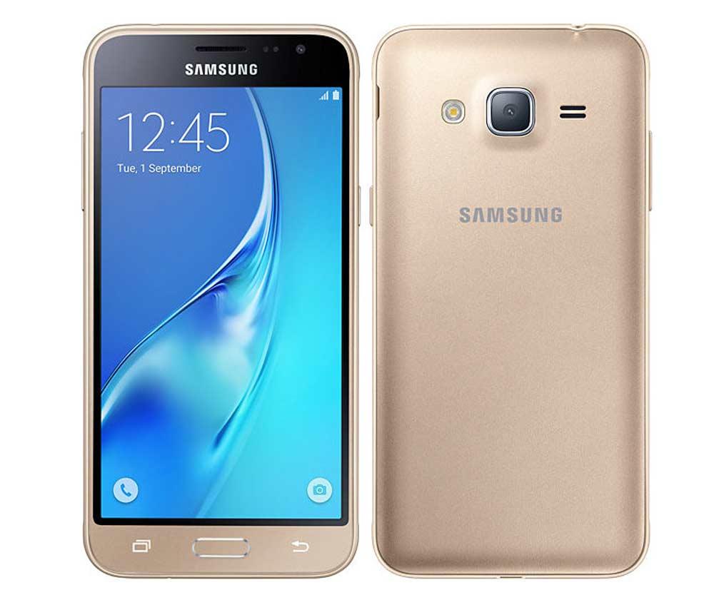 SAMSUNG J-320F Galaxy J3 2016 (Dual Sim) Gold EU