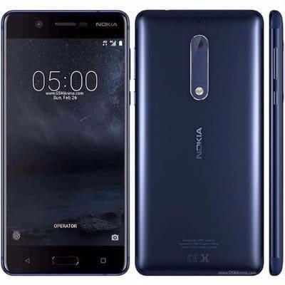 NOKIA 5 TA-1053 (Dual Sim) 16GB ROM, 2GB RAM  TEMPERED BLUE