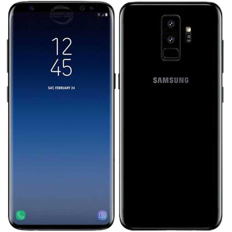 SAMSUNG Galaxy G965F S9+ (Dual Sim) Midnight Black