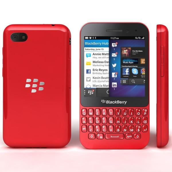 BLACKBERRY Q5 Red (QWERTY) EU