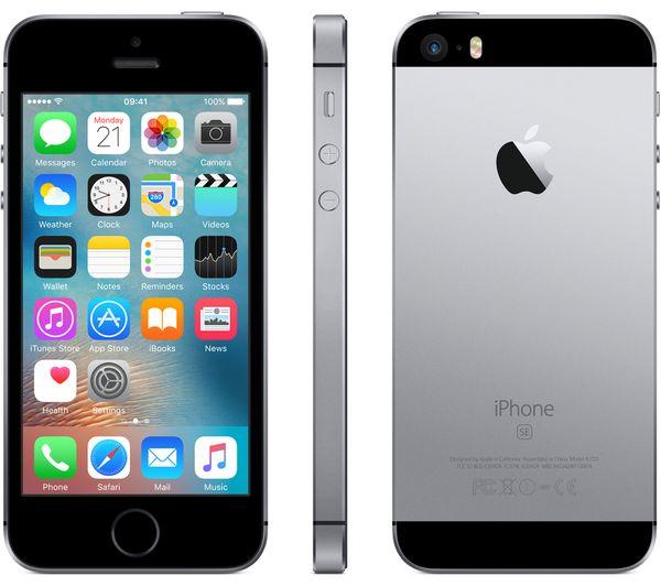 APPLE iPhone SE (32GB) Space Gray EU