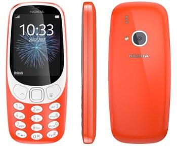 NOKIA 3310 (Dual Sim) 2017 Warm Red GR