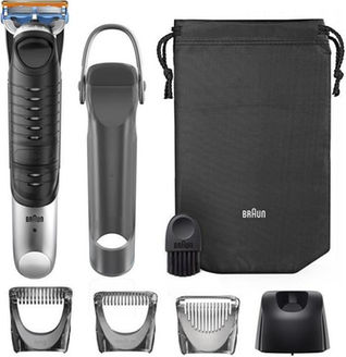 Braun body groomer BG5030 wet and dry silver