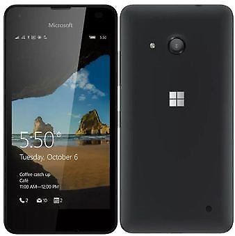 MICROSOFT Lumia 550 RM-1127 (Single Sim) BLACK EU