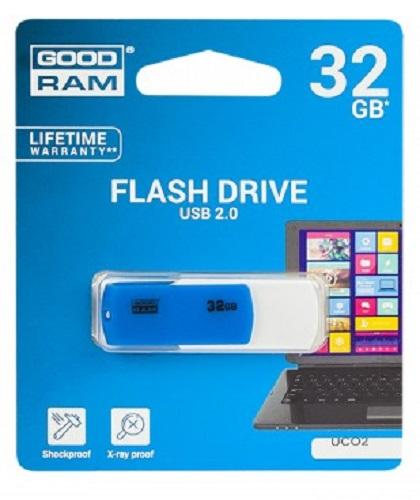 GOODRAM MEMORY USB 32GB USB 2.0 Blue/White