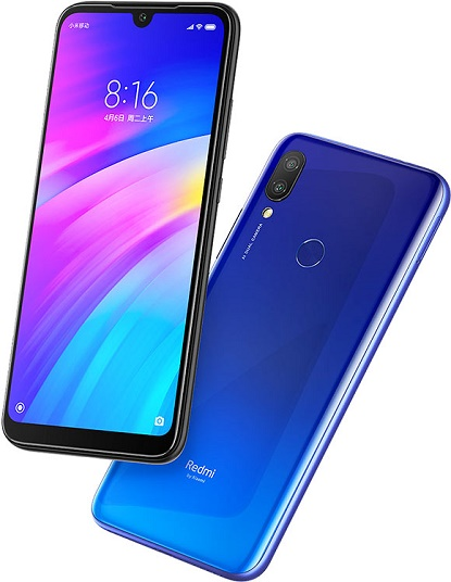 Xiaomi Redmi 7 Dual Sim 3GB RAM 64GB - COMET BLUE EU