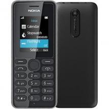 NOKIA 108 (Single Sim) Black