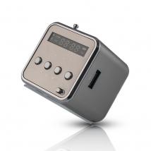 Radio speaker MF-100 silver (5900495315359)