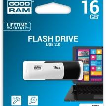 Flash Drive GoodRam 16GB - BLACK and WHITE