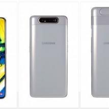 Samsung Galaxy A80 SM-A805FDS (128GB/8GB) Dual Sim Ghost White EU