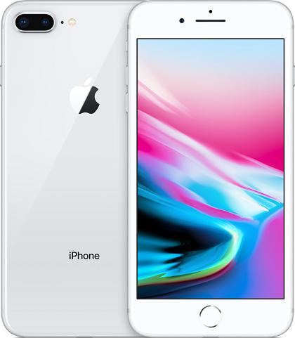 APPLE IPHONE 8 PLUS 128GB ROM/3GB RAM SILVER EU