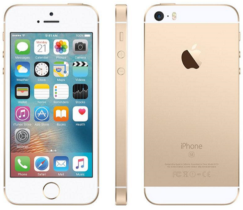 APPLE iPhone SE (128GB) Gold EU