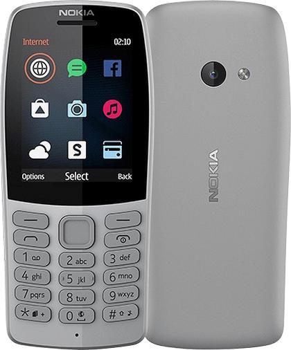 NOKIA 210 (Dual Sim) GREY EU