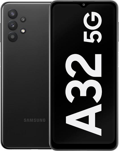 SAMSUNG GALAXY A32 5G A326B/DS 128GB ROM/4GB RAM AWESOME BLACK EU