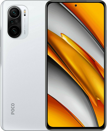 XIAOMI POCO F3 256GB ROM/8GB RAM DUAL SIM  ARCTIC WHITE EU