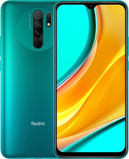 XIAOMI REDMI 9 64GB ROM/4GB RAM DUAL SIM OCEAN GREEN EU