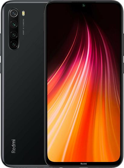 XIAOMI REDMI NOTE 8 2021 64GB ROM/4GB RAM DUAL SIM SPACE BLACK EU