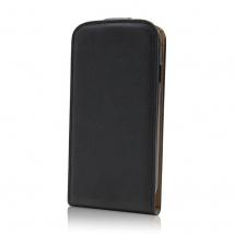 ΘΗΚΗ Leather PLUS New Lenovo Vibe K5 black (5900495464415)
