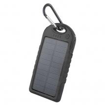 Solar power bank 5000 mAh TB-016 Black