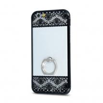 ΘΗΚΗ Floral Ring for Sam S6 G920 black