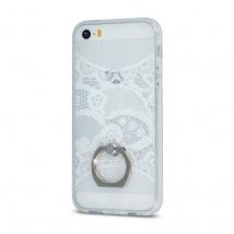 ΘΗΚΗ Paisley Ring for Sam S6 G920 white