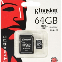 Kingston MicroSD 64GB SDCS