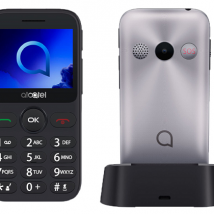 ALCATEL 2019G BLACK/METALLIC SILVER EU