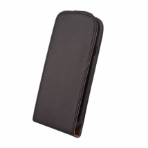 ΘΗΚΗ Leather case Elegance Mic Lumia 435 black