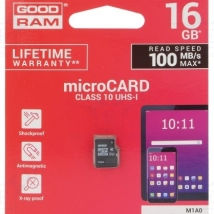 GOODRAM M1A0 MICROSD 16GB CLASS10 UHS-1