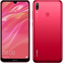 HUAWEI Y7 2019 DUB-LX1 32GB ROM/3GB RAM (DUAL SIM) CORAL RED EU