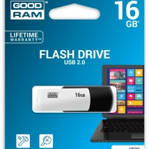 Flash Drive GoodRam 16GB - BLACK and WHITE