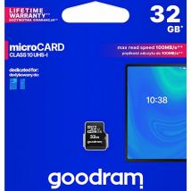 GOODRAM MICRO SD CLASS10 UHS-I 32GB