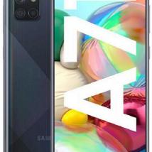 SAMSUNG GALAXY A71 A715FDS 128GB ROM/6GB RAM (DUAL SIM) PRISM CRUSH BLACK EU