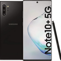 SAMSUNG GALAXY NOTE 10 PLUS N976B (SINGLE SIM) 5G 256GB ROM/12GB RAM AURA BLACK EU