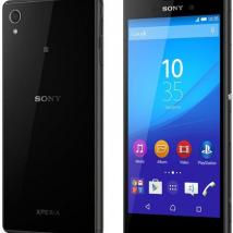 SONY XPERIA M4 AQUA E2306 8GB ROM/2GB RAM BLACK EU
