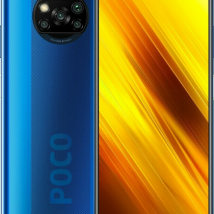 XIAOMI POCO X3 128GB ROM/6GB RAM NFC  (DUAL SIM) COBALT BLUE EU