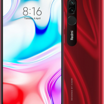 XIAOMI REDMI 8 64GB ROM/4GB RAM RUBY RED EU